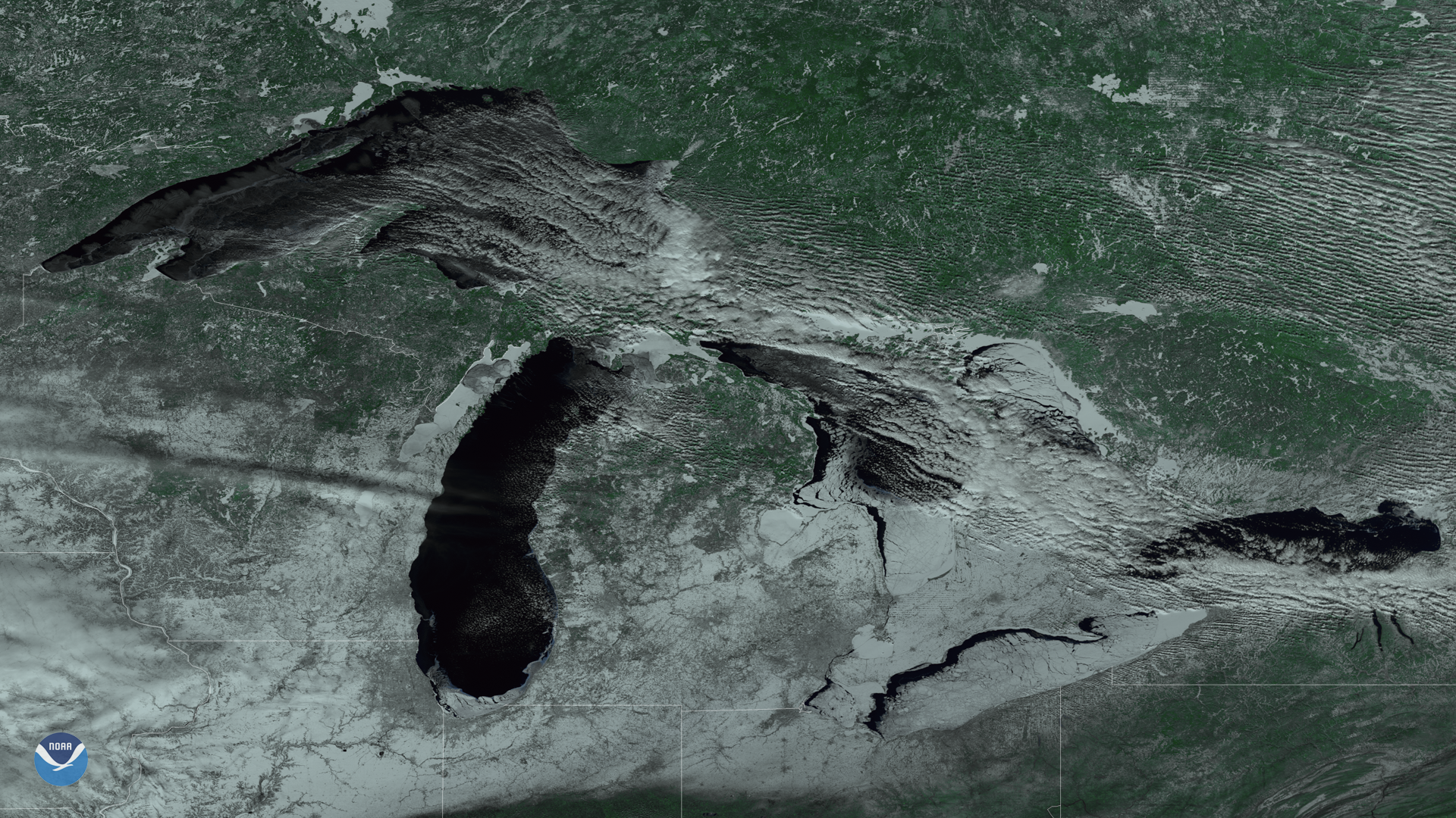 Current Ice Cover on the Great Lakes