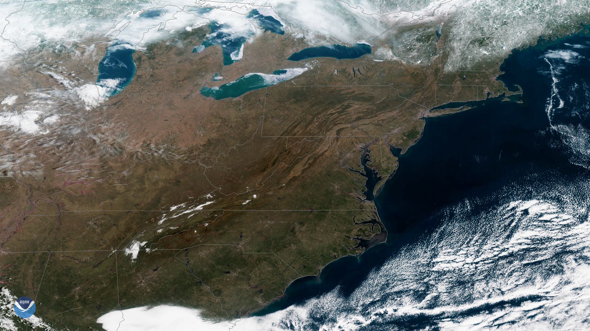 U.S. Coast from GOES East; New GOES West Next