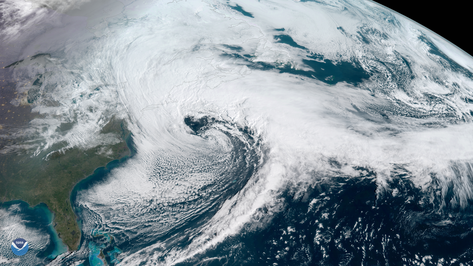 Third Nor'easter in 10 Days Impacts New England