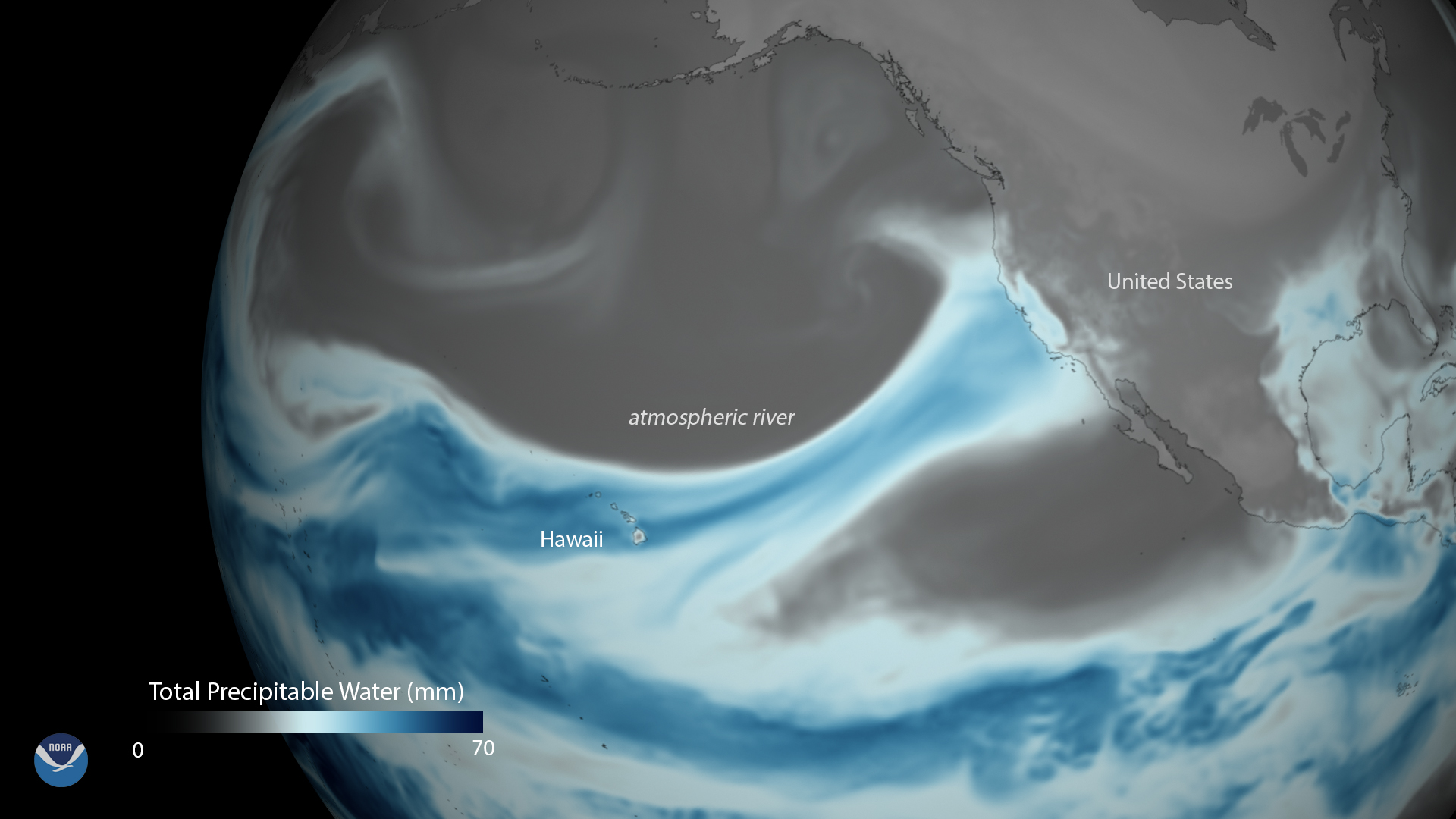 Powerful Atmospheric River Drenches Northern California