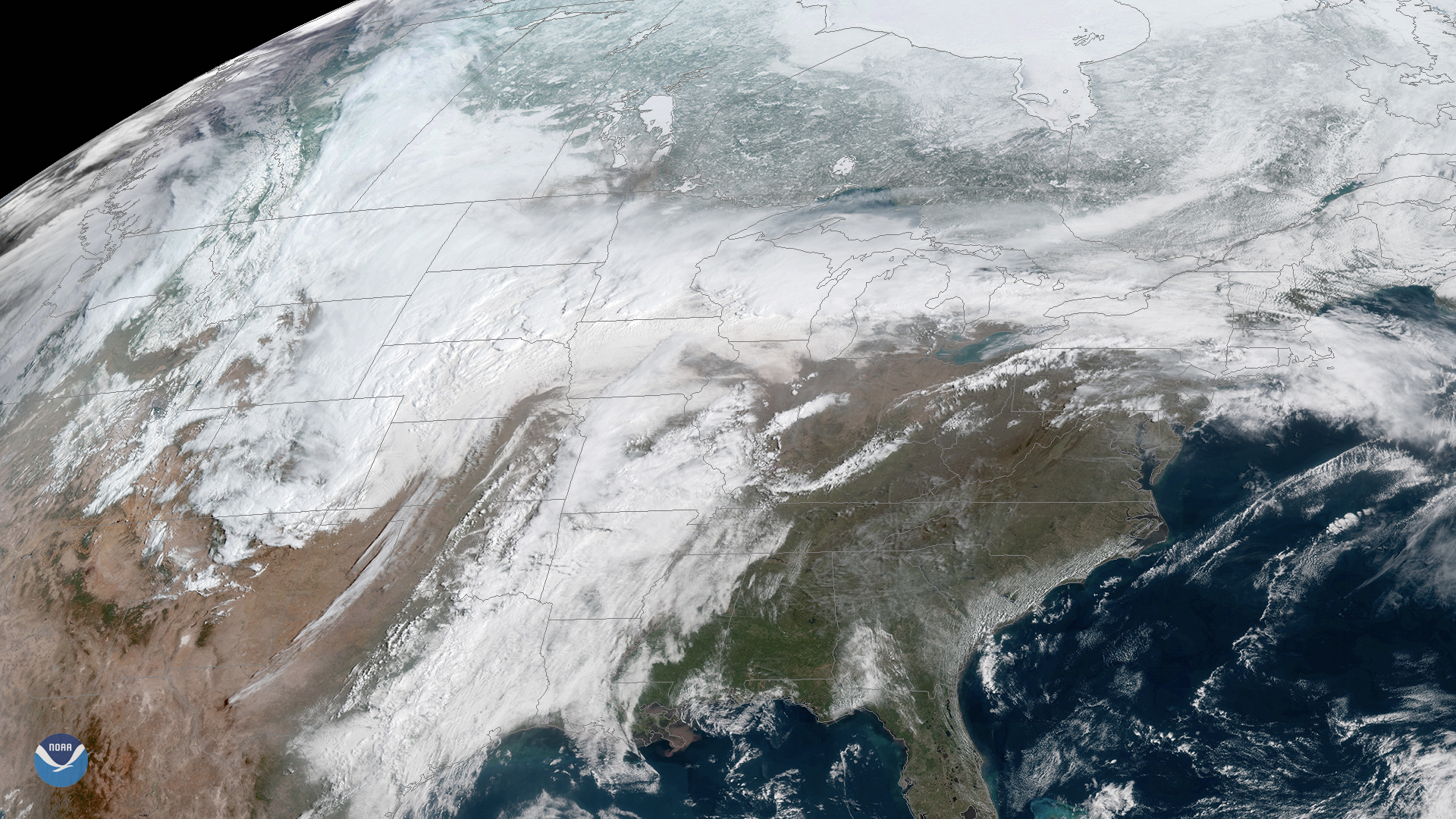 April Storm Brings Wild Weather Across the U.S.