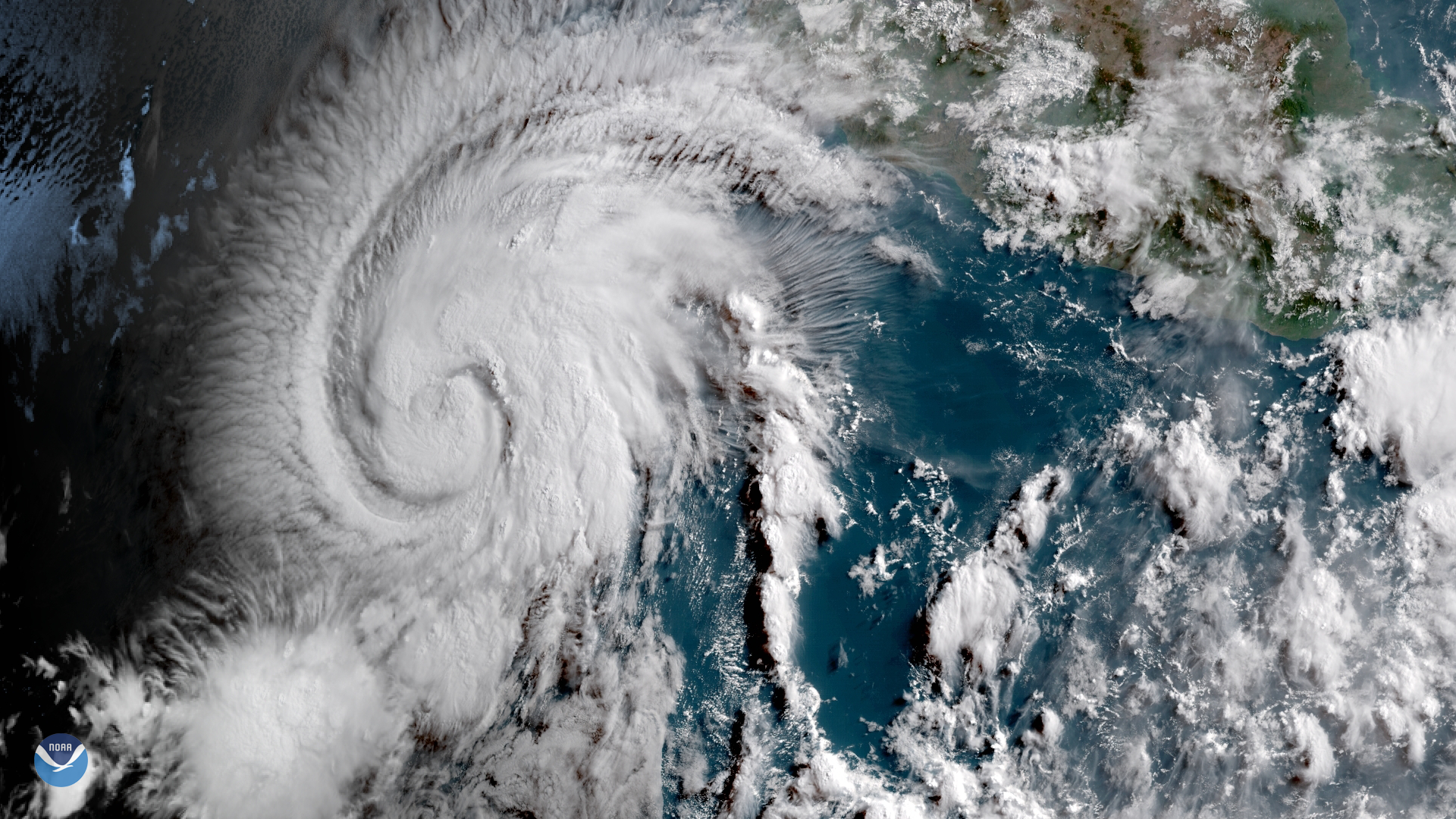 Hurricane Aletta in the Eastern Pacific