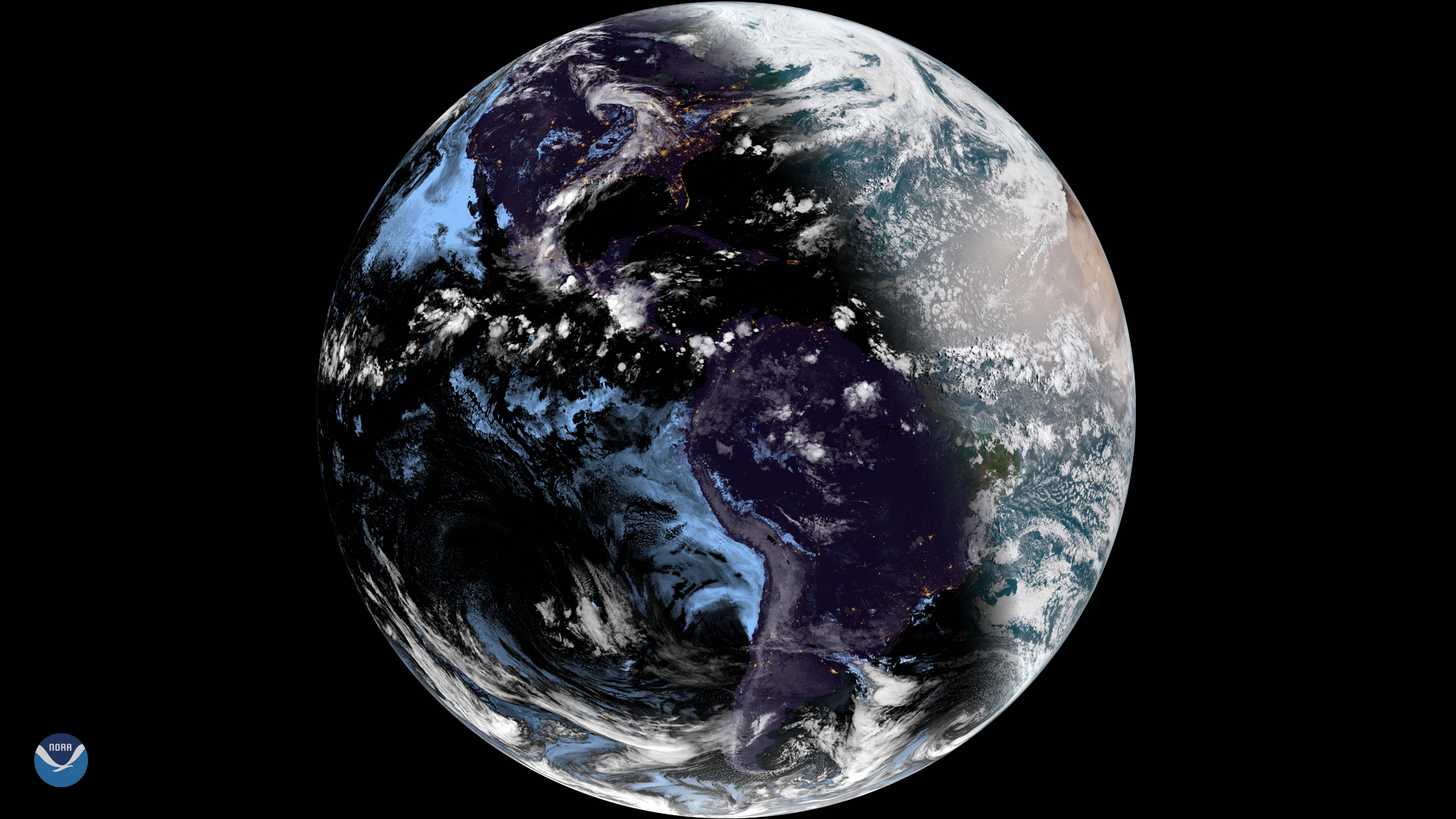 The Summer Solstice Seen from Space