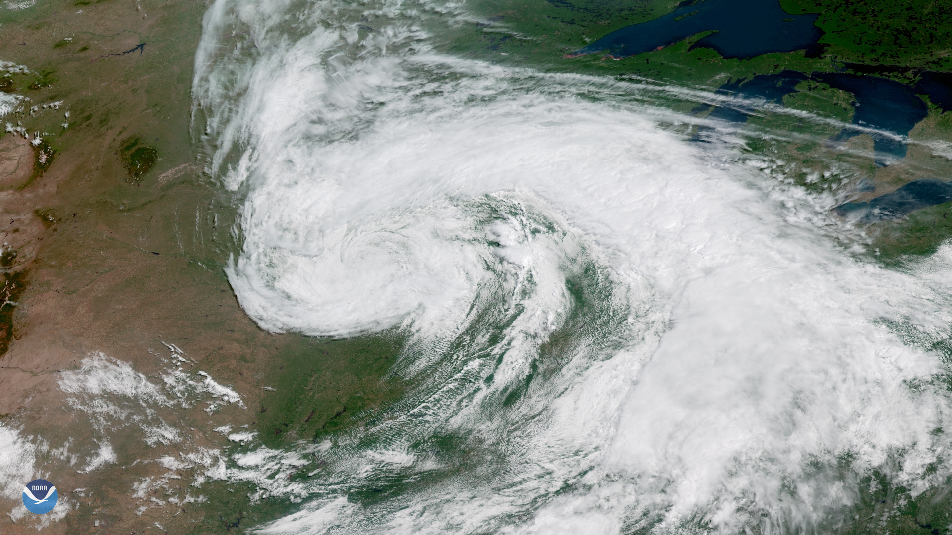 Mid-Latitude Cyclone on the First Day of Summer