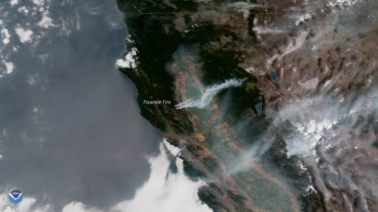 Wildfires in Northern California
