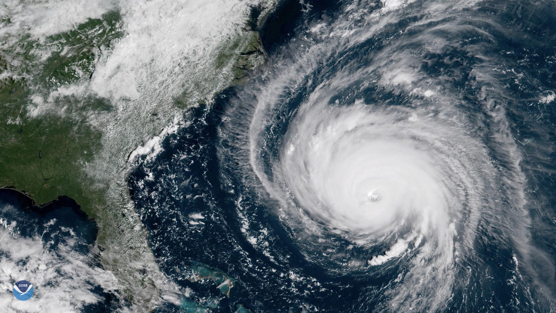 Hurricane Florence Nears the East Coast