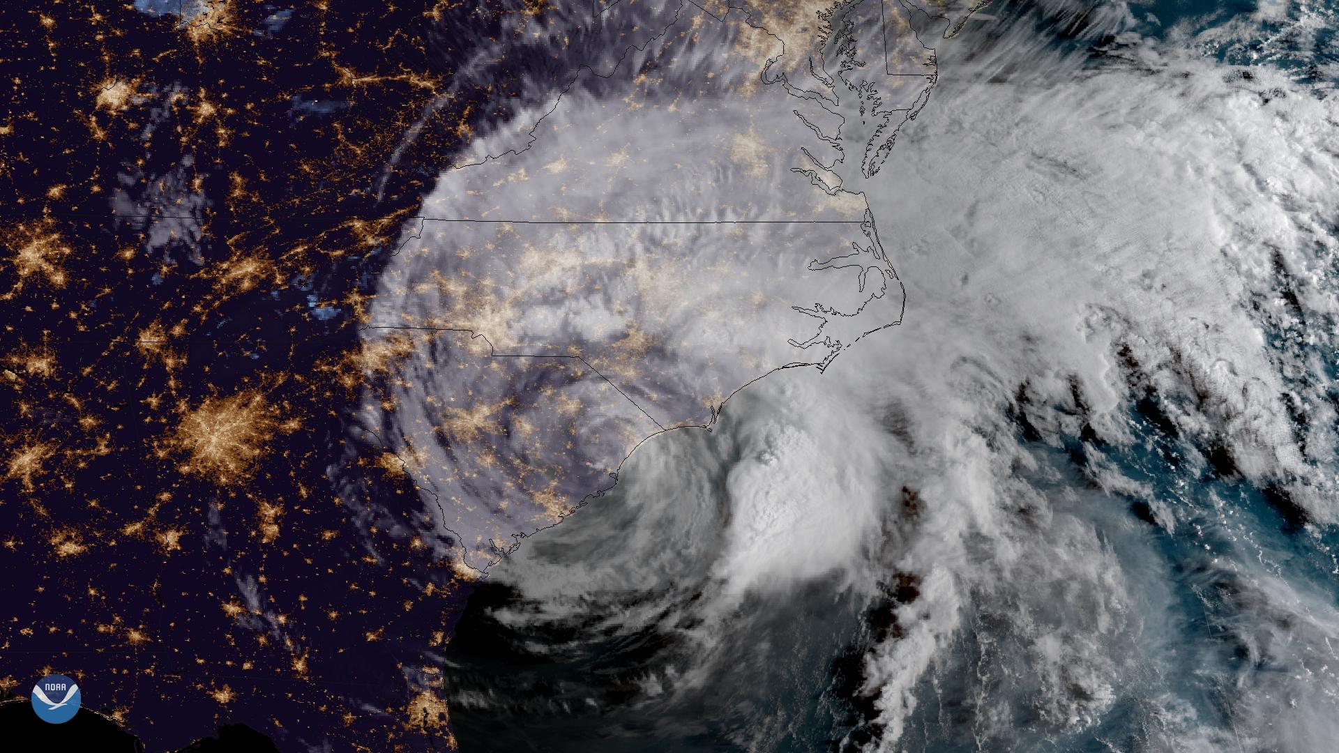 Florence Floods the Carolinas