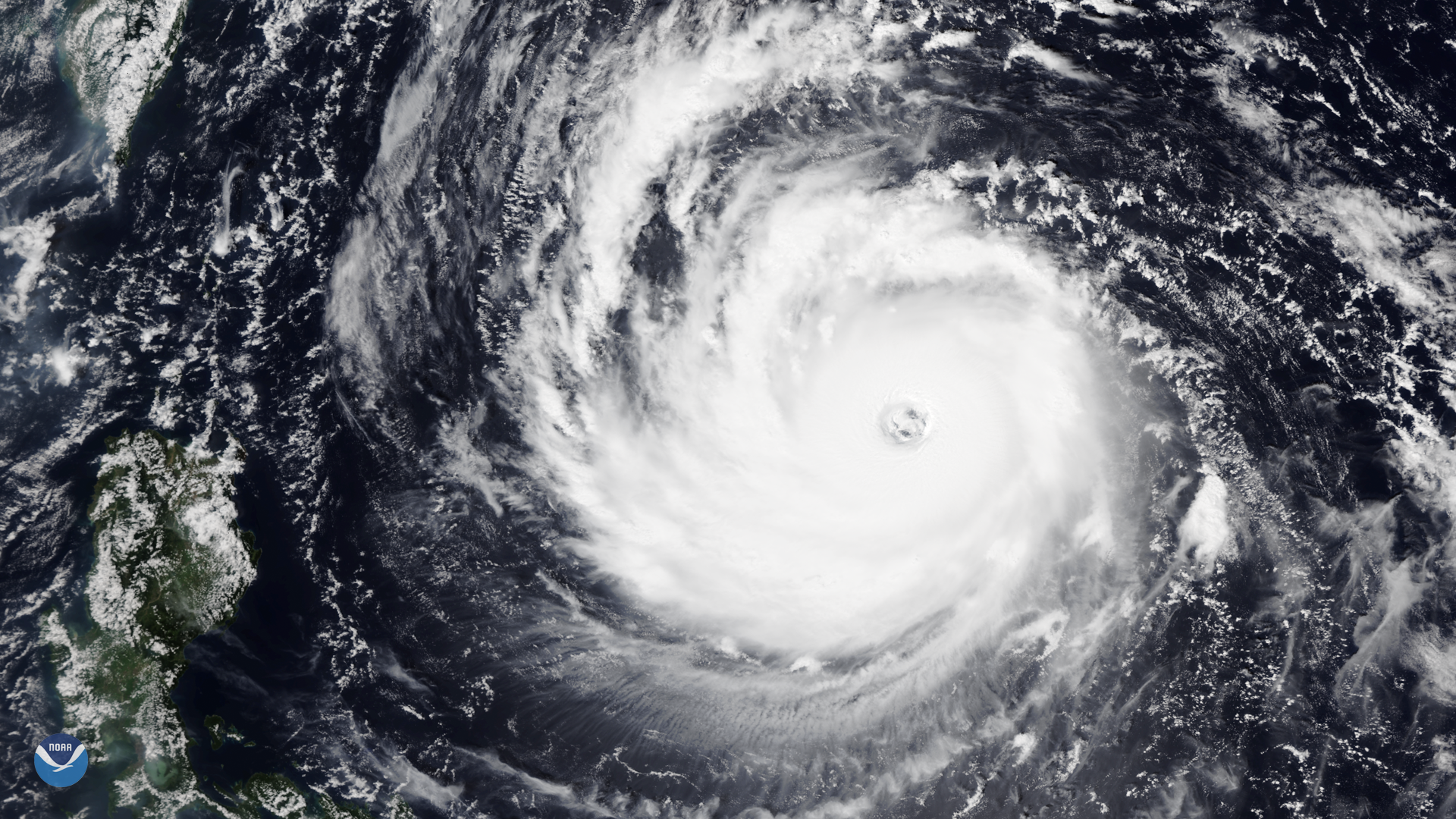 Super Typhoon Trami in the Western Pacific