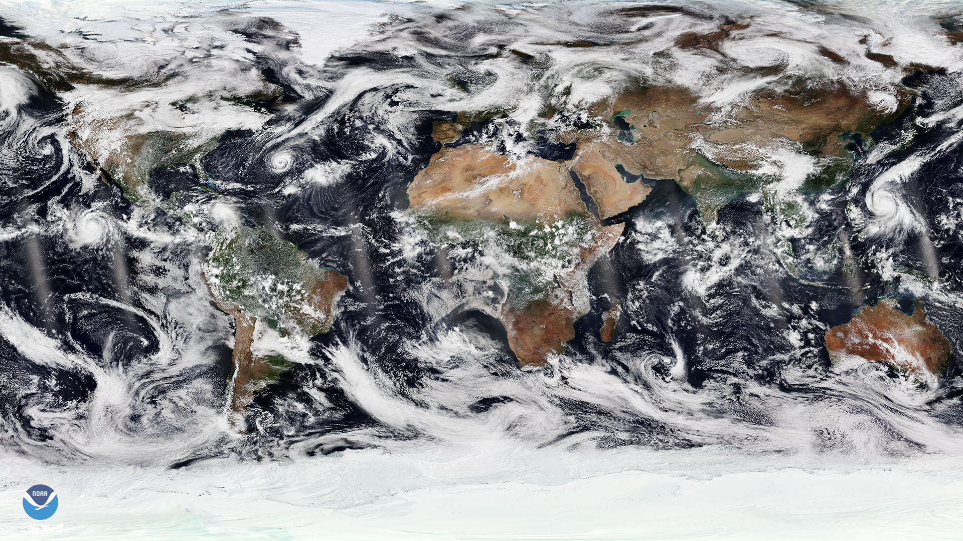 Multiple Tropical Cyclones in the Northern Hemisphere
