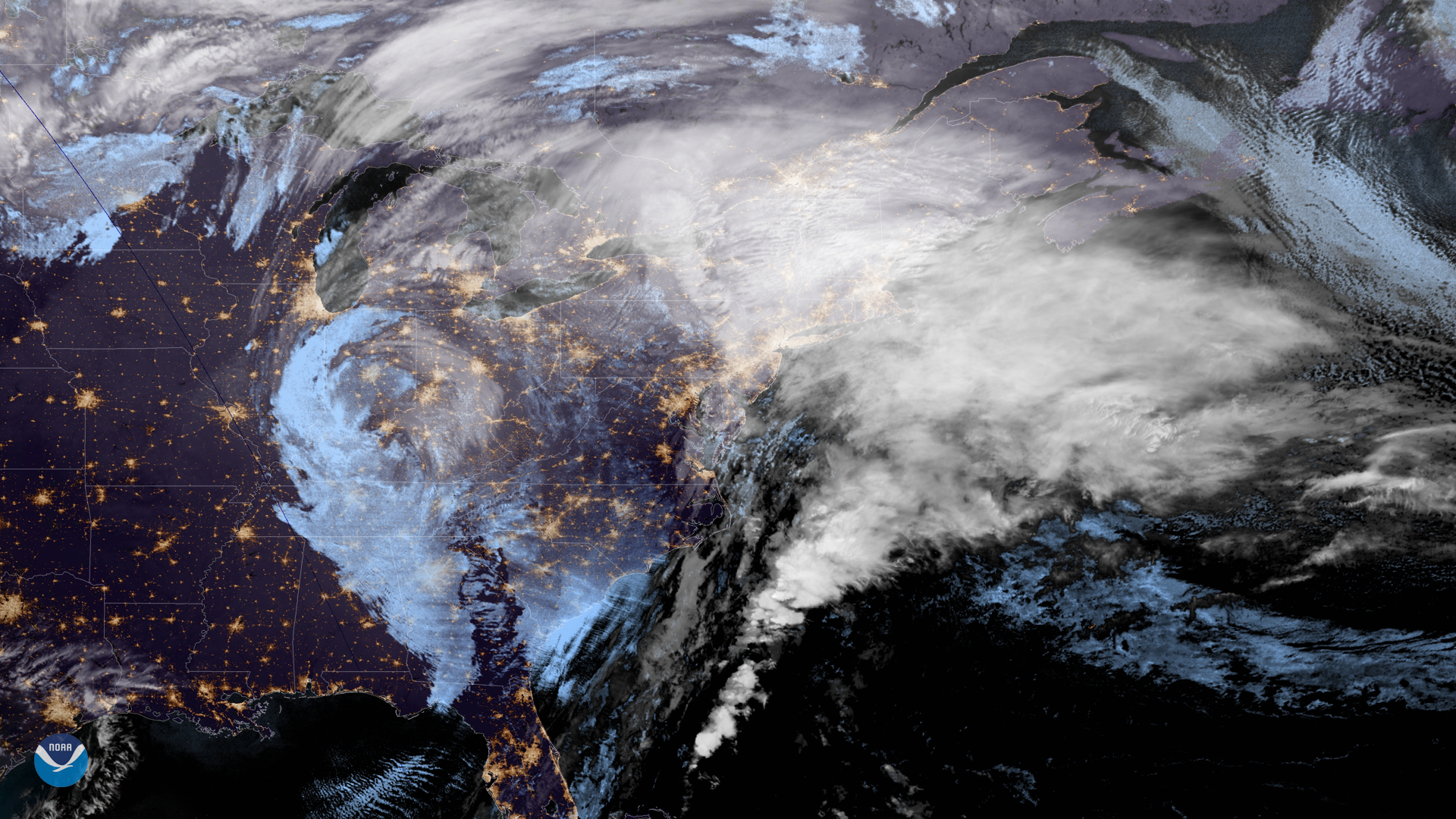 Latest Image of the Day from the NOAA Environmental Visualization Laboratory