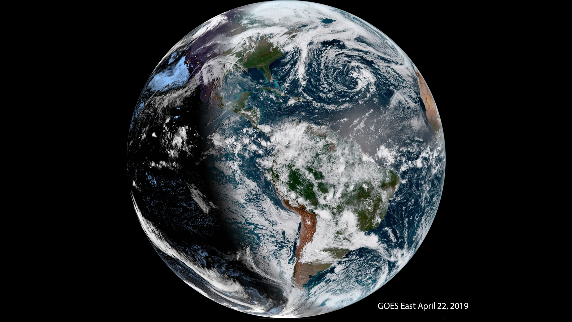 Celebrate Earth Day With These GOES Satellite Images | NOAA National