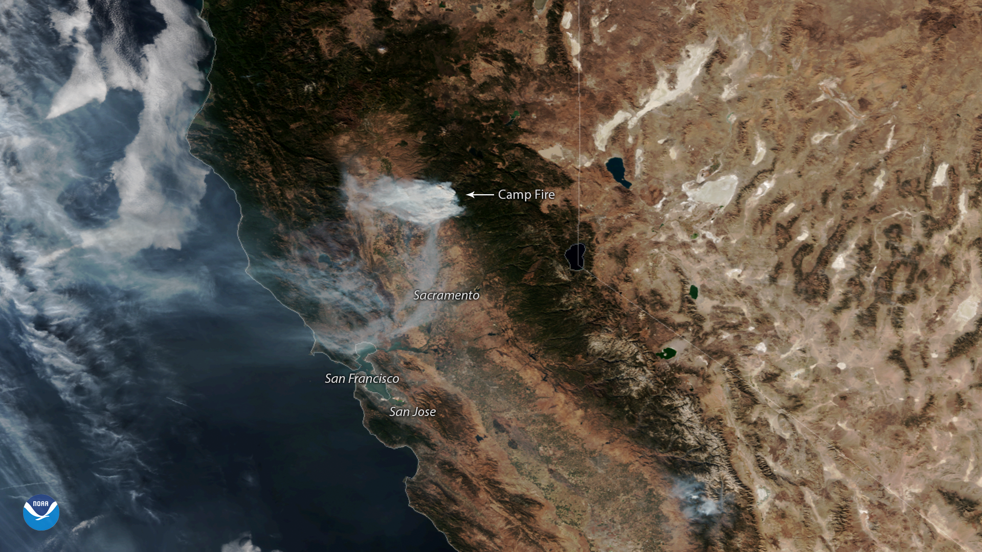 Gusty Offshore Winds Continue to Fuel California Wildfires